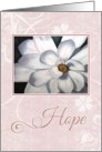 Pink Hope for Cancer card