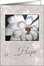 Gray Hope for Cancer card