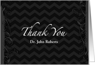 Thank You Doctor Custom Name - National Doctors' Day card