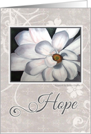 Hope - encouragement/get well card