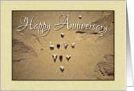Love You - anniversary card