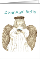 Birthday - Aunt Betty card