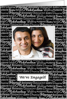 Engagement Party - Custom Photo Invitation card