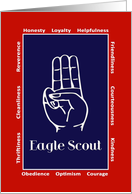 Eagle Scout - Congratulations card