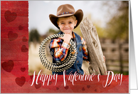 Custom Photo Happy Valentine's Day card