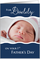 Photo Card - 1st Father's Day card