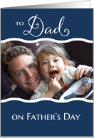 Photo Card - Father's Day from child card
