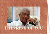 Thinking of You - Custom Photo Card