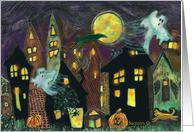 Spookie Houses card