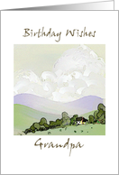 Birthday Wishes Grandpa card