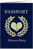 divorce party passport card