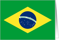 moved to brasil (flag) card
