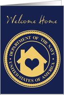 welcome home from the navy card