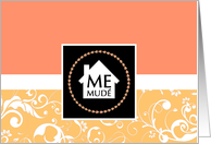me mud� : professional damask home card