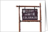 welcome to colorful colorado moving announcement card