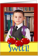 Sweet Rosh Hashanah Photo Card, Add Your Picture Here card