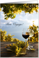 Bon Voyage, Wine and Grapes with Sky card