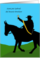 Saint José Gabriel Brochero Feast Day, the Gaucho Priest card