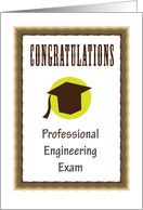 Congratulations On Passing Your Professional Engineering Exam card