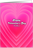 happy valentine's Day, brother, love background card
