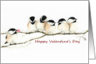 Chickadee's Offer My Heart Valentine card