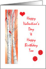valentine day birthday card