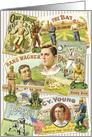 American Baseball All Occasion Vintage Card