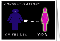 Congratulations- Weight Loss card