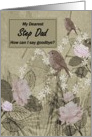 Step Dad Goodbye From Terminally ill Step Son or Step Daughter card