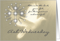 Religious / Ash Wednesday / 3 card