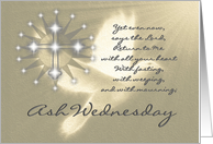 Religious / Ash Wednesday / 4 card