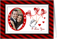 Valentine's Day Marriage Proposal / Your Photo Here card