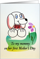 Mommy's First Mother's Day card