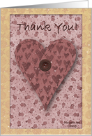 Support Thank You card