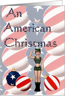 An American Christmas card