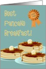 Best pancake breakfast!-Hospitality, Occassion, Thank you card