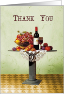 Thank you for Dinner-hospitality,thank you card