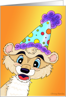 Ferret Party card