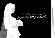 Bridesmaid Request for Step Mother card