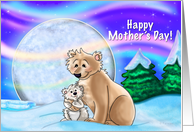 Polar Nights - Mother's Day card