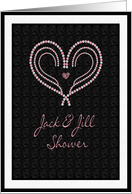 Jack & Jill Shower Heart of Gems card