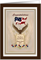 Congratulations Eagle Scout - Customizable Text card