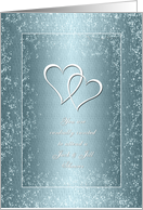 Invitation - Jack and Jill - Two Hearts card