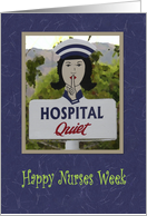 Happy Nurses Week Poem card