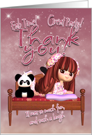 Thank You Card - For Party card