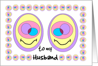 Happy Easter - Husband card