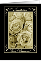 Vow Renewal Ceremony - INVITATION card