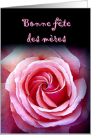 Bonne Fete des Meres - Happy Mother's Day - French card