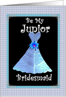 Be My Junior Bridesmaid card