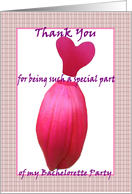 Thank You - Bachelorette Party card